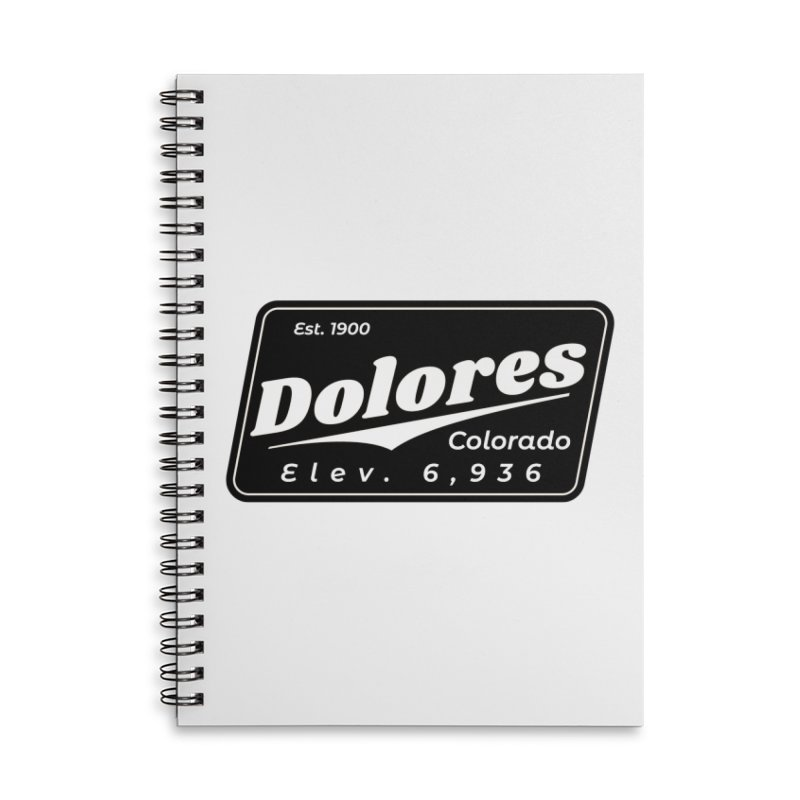 Dolores Beer Accessories Lined Spiral Notebook by dolores outfitters's Artist Shop