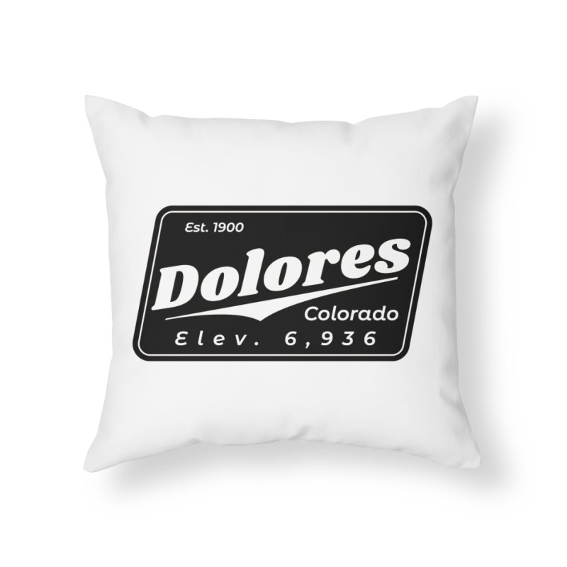 Dolores Beer Home Throw Pillow by dolores outfitters's Artist Shop