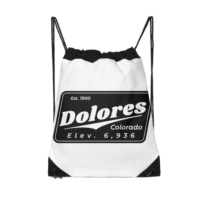 Dolores Beer Accessories Drawstring Bag Bag by dolores outfitters's Artist Shop