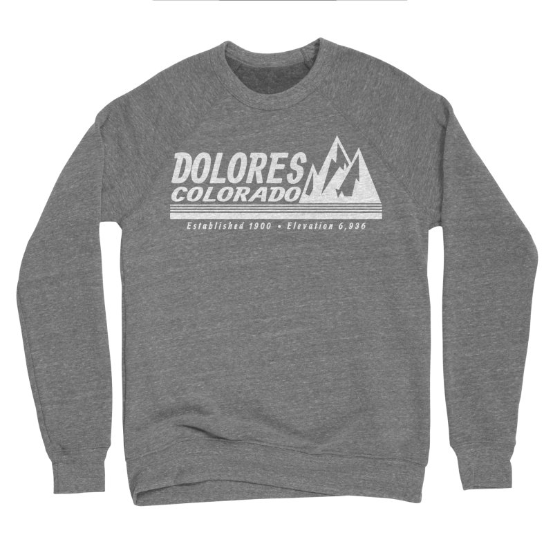 Dolores Colorado Elev. Women's Sponge Fleece Sweatshirt by dolores outfitters's Artist Shop