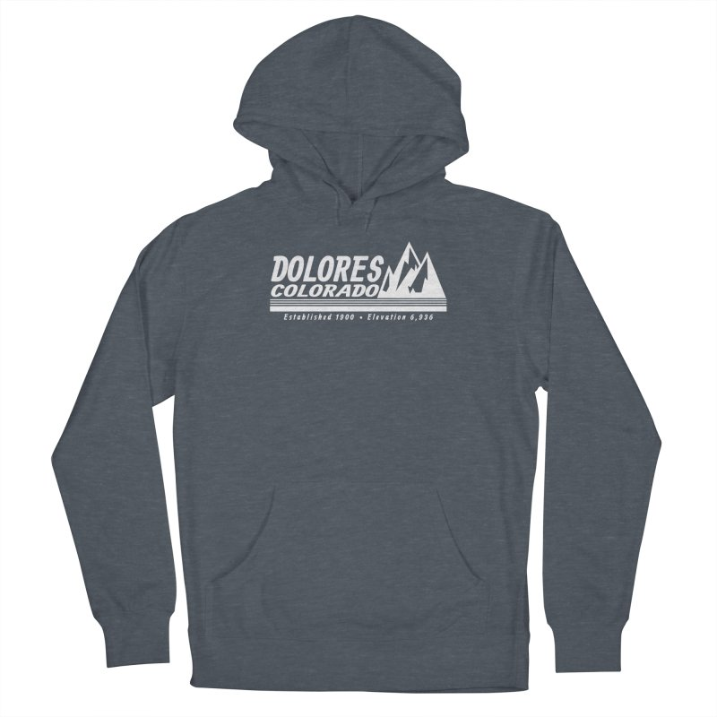 Dolores Colorado Elev. Women's French Terry Pullover Hoody by dolores outfitters's Artist Shop