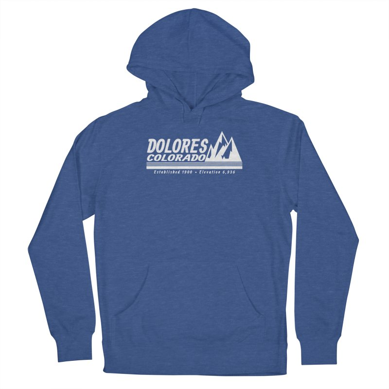 Dolores Colorado Elev. Men's Pullover Hoody by dolores outfitters's Artist Shop