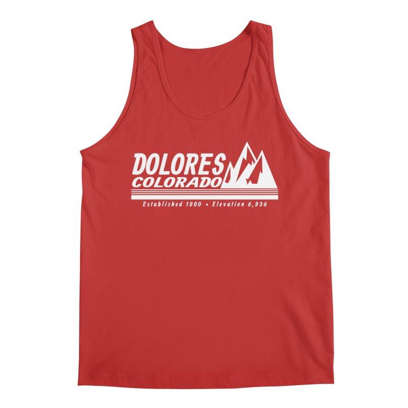 Dolores Colorado Elev. Men's Regular Tank by dolores outfitters's Artist Shop