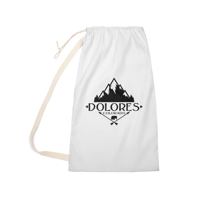 Dolores Colorado Bear Badge Accessories Laundry Bag Bag by dolores outfitters's Artist Shop