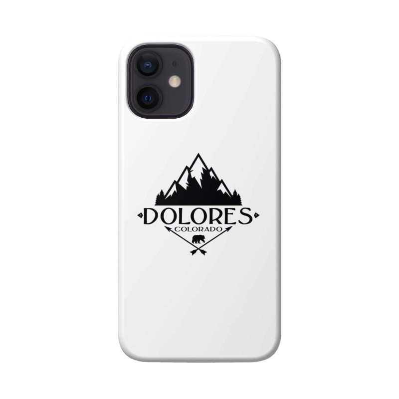 Dolores Colorado Bear Badge Accessories Phone Case by dolores outfitters's Artist Shop