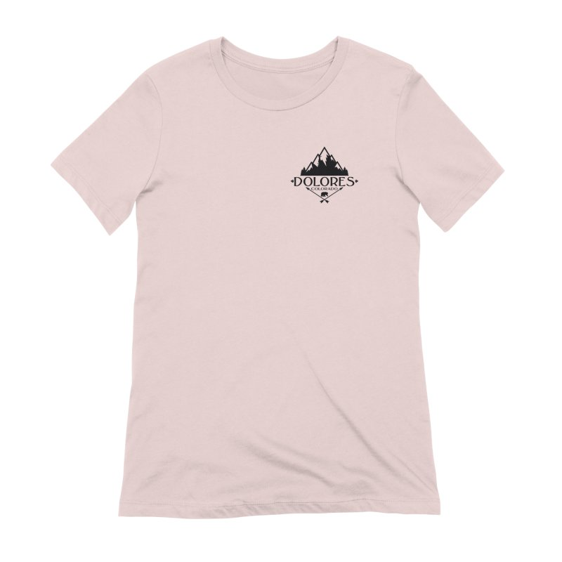 Dolores Colorado Bear Badge Women's Extra Soft T-Shirt by dolores outfitters's Artist Shop