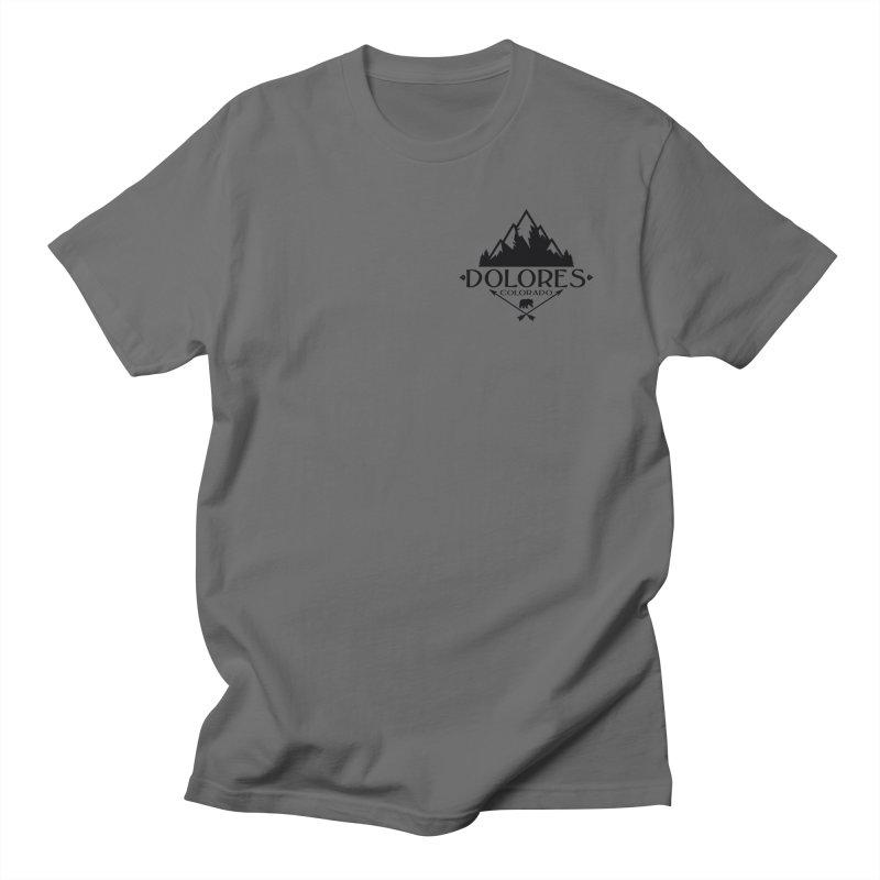 Dolores Colorado Bear Badge Men's T-Shirt by dolores outfitters's Artist Shop