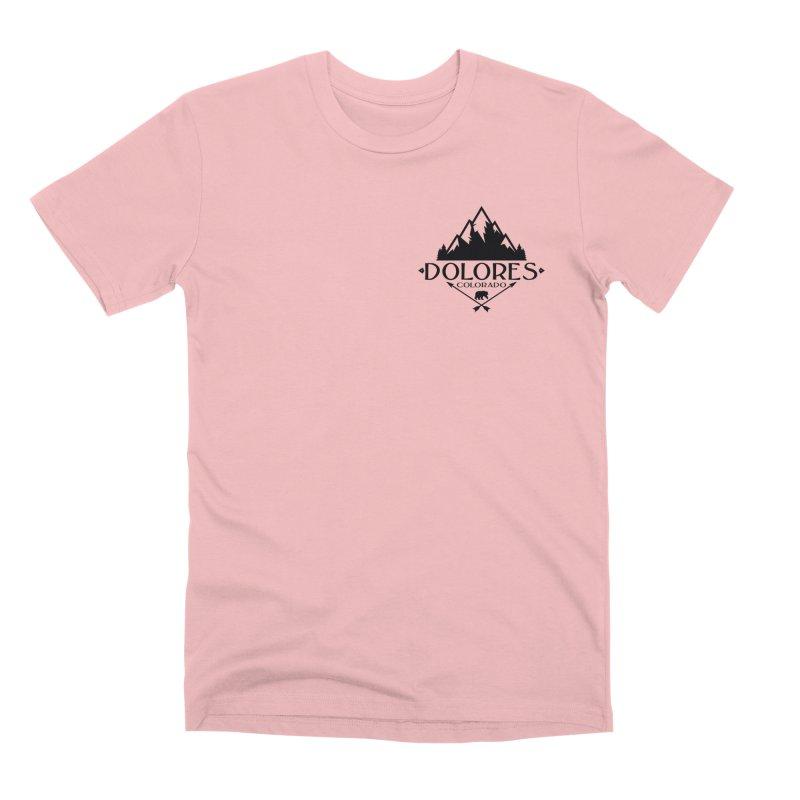 Dolores Colorado Bear Badge Men's Premium T-Shirt by dolores outfitters's Artist Shop