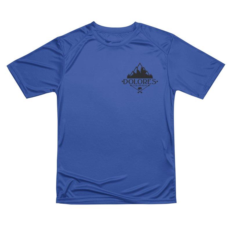 Dolores Colorado Bear Badge Women's Performance Unisex T-Shirt by dolores outfitters's Artist Shop