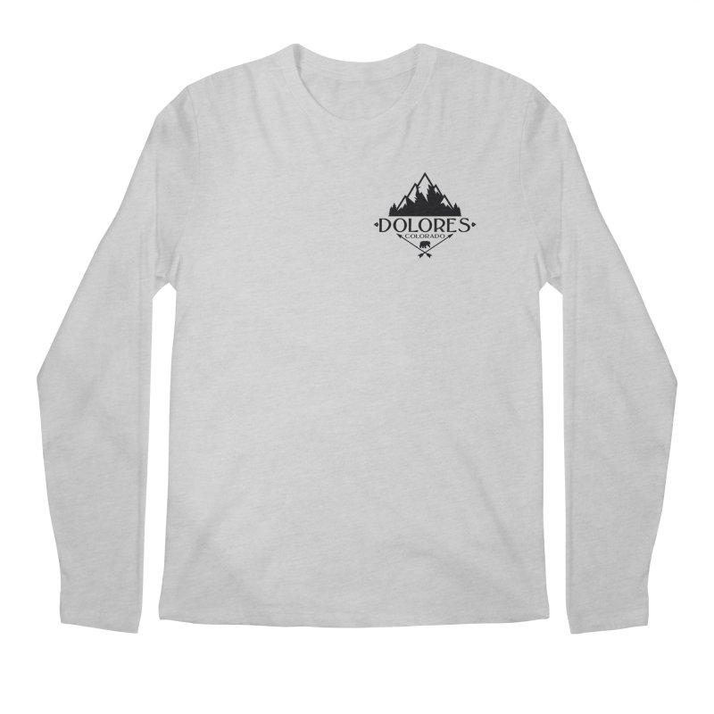 Dolores Colorado Bear Badge Men's Regular Longsleeve T-Shirt by dolores outfitters's Artist Shop