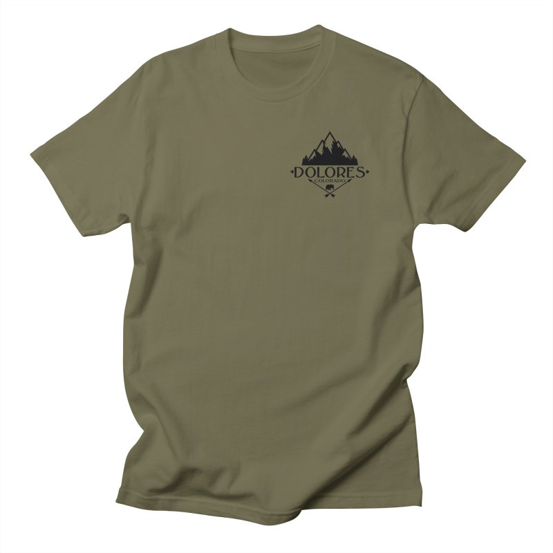Dolores Colorado Bear Badge Women's Regular Unisex T-Shirt by dolores outfitters's Artist Shop
