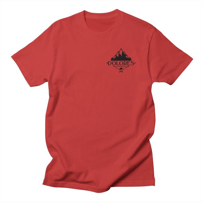Dolores Colorado Bear Badge Women's Regular Unisex T-Shirt by dolores outfitters's Artist Shop