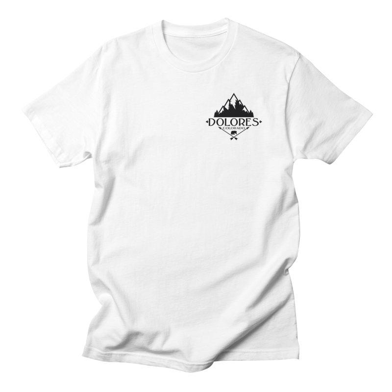 Dolores Colorado Bear Badge Men's Regular T-Shirt by dolores outfitters's Artist Shop