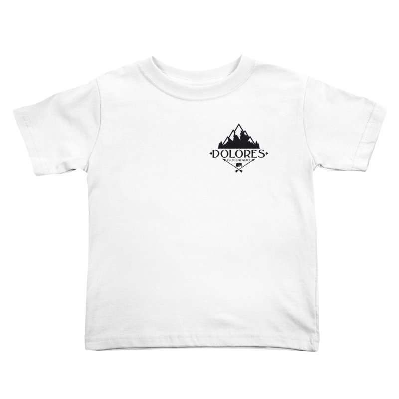 Dolores Colorado Bear Badge Kids Toddler T-Shirt by dolores outfitters's Artist Shop