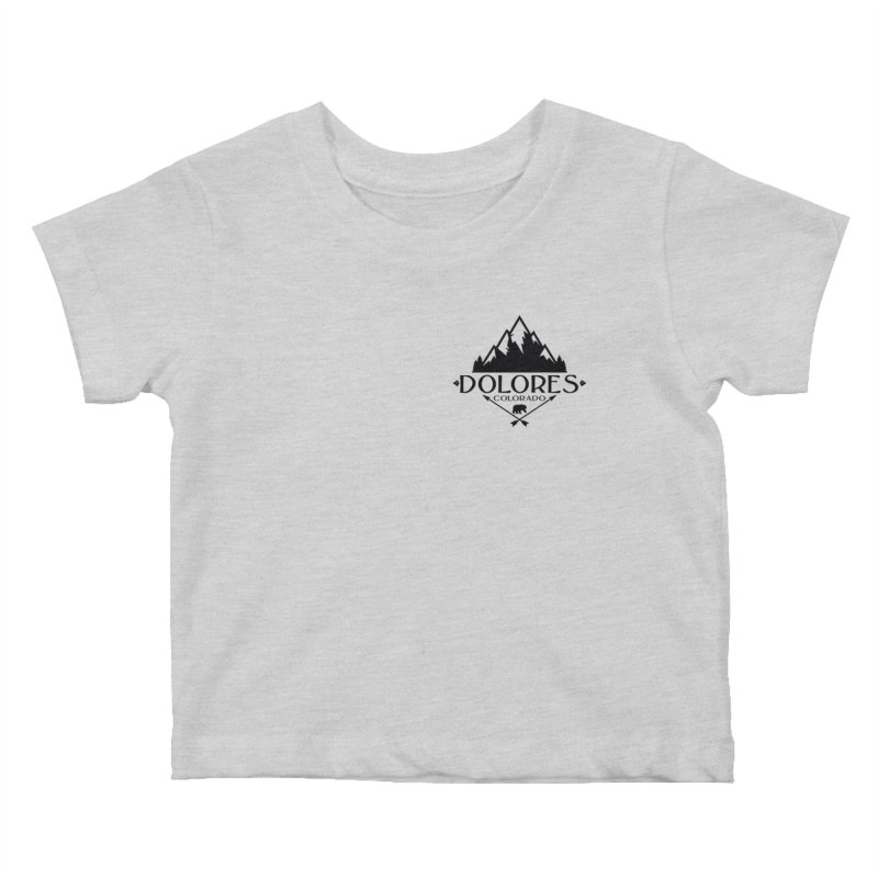 Dolores Colorado Bear Badge Kids Baby T-Shirt by dolores outfitters's Artist Shop