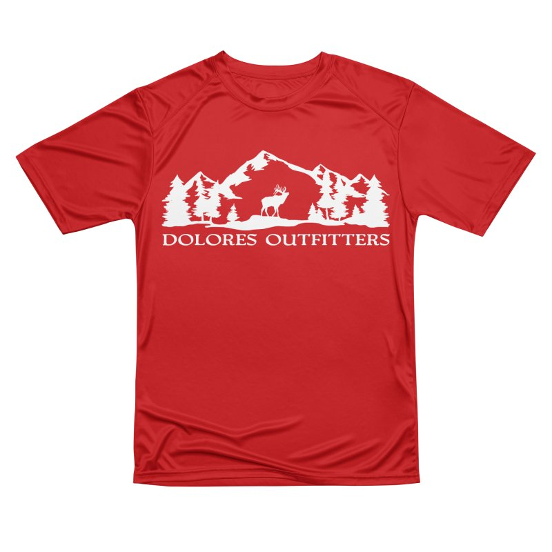 Dolores Outfitters Elk Mountain Women's Performance Unisex T-Shirt by dolores outfitters's Artist Shop