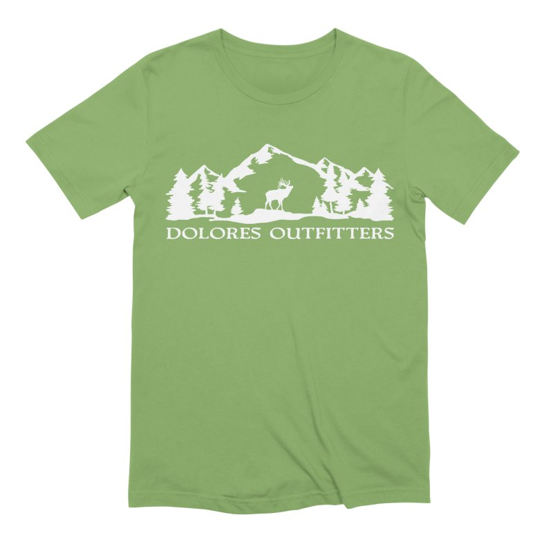Dolores Outfitters Elk Mountain Men's Extra Soft T-Shirt by dolores outfitters's Artist Shop