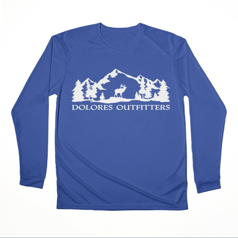 Dolores Outfitters Elk Mountain Men's Performance Longsleeve T-Shirt by dolores outfitters's Artist Shop