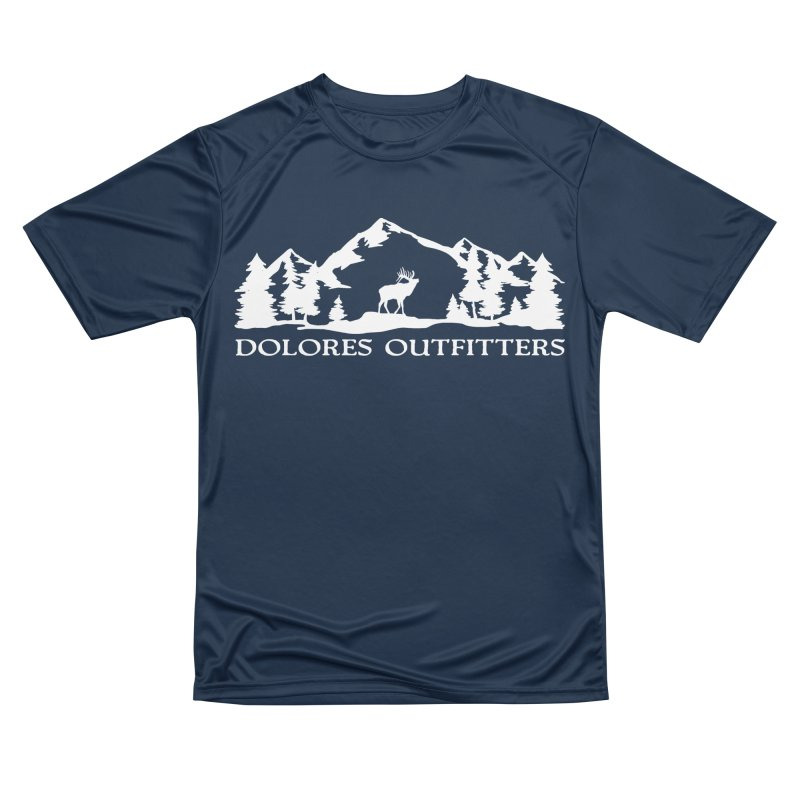 Dolores Outfitters Elk Mountain Men's Performance T-Shirt by dolores outfitters's Artist Shop