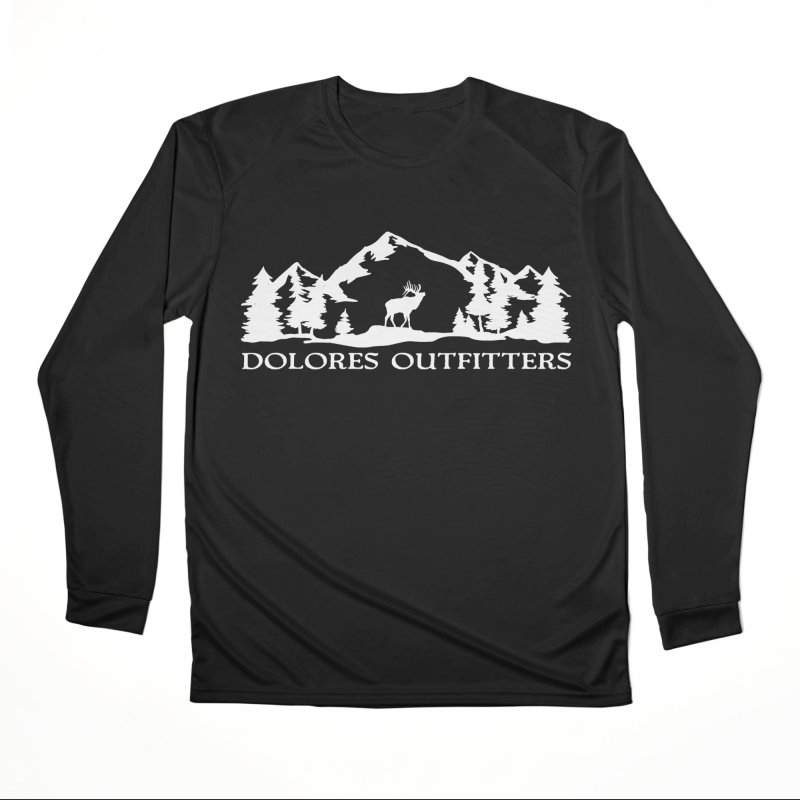 Dolores Outfitters Elk Mountain Women's Performance Unisex Longsleeve T-Shirt by dolores outfitters's Artist Shop