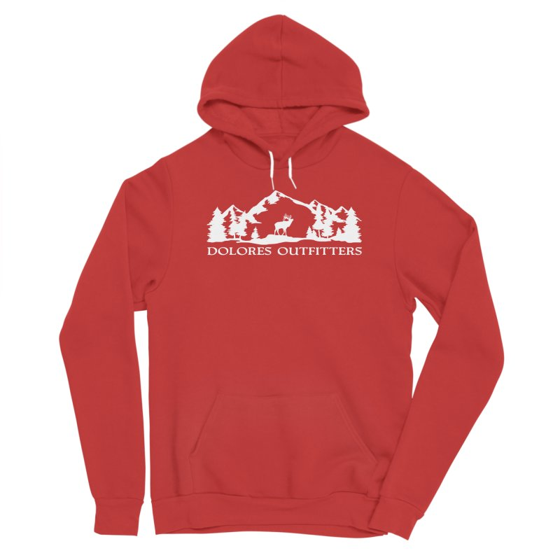 Dolores Outfitters Elk Mountain Men's Pullover Hoody by dolores outfitters's Artist Shop