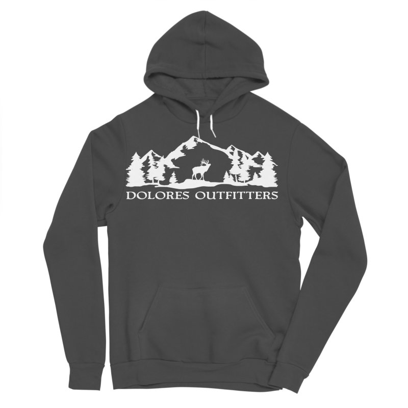 Dolores Outfitters Elk Mountain Men's Sponge Fleece Pullover Hoody by dolores outfitters's Artist Shop
