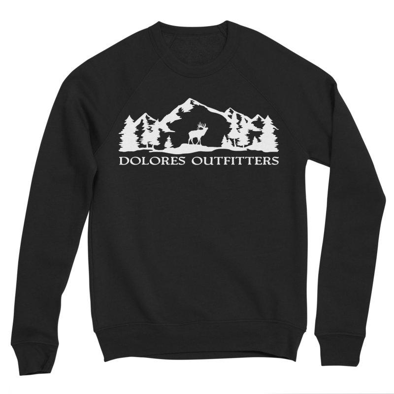 Dolores Outfitters Elk Mountain Men's Sponge Fleece Sweatshirt by dolores outfitters's Artist Shop