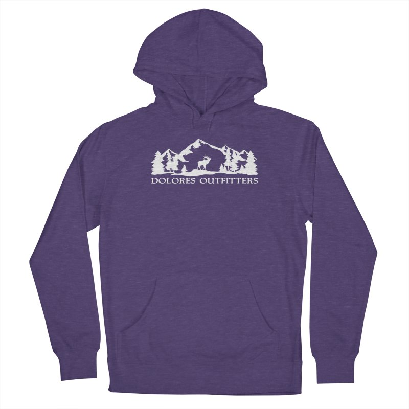Dolores Outfitters Elk Mountain Women's French Terry Pullover Hoody by dolores outfitters's Artist Shop