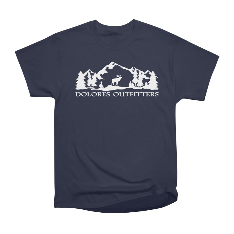 Dolores Outfitters Elk Mountain Women's Heavyweight Unisex T-Shirt by dolores outfitters's Artist Shop