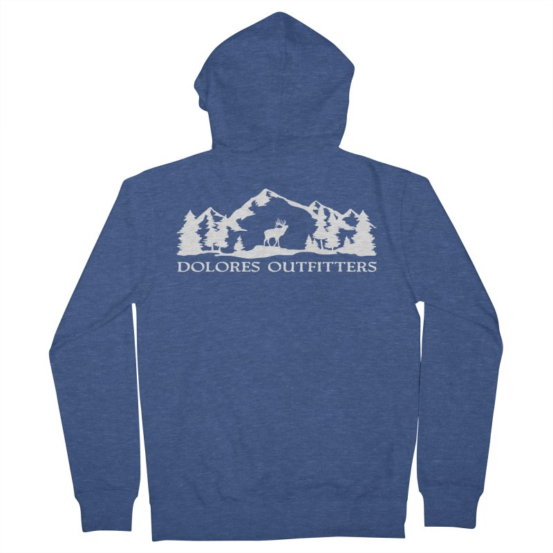 Dolores Outfitters Elk Mountain Women's French Terry Zip-Up Hoody by dolores outfitters's Artist Shop