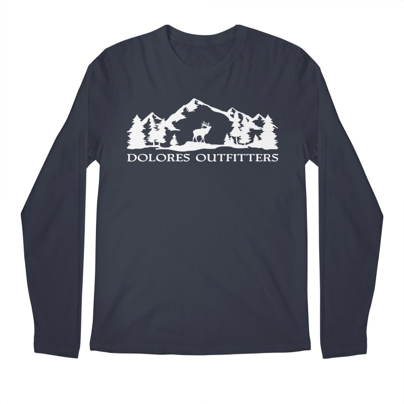 Dolores Outfitters Elk Mountain Men's Regular Longsleeve T-Shirt by dolores outfitters's Artist Shop