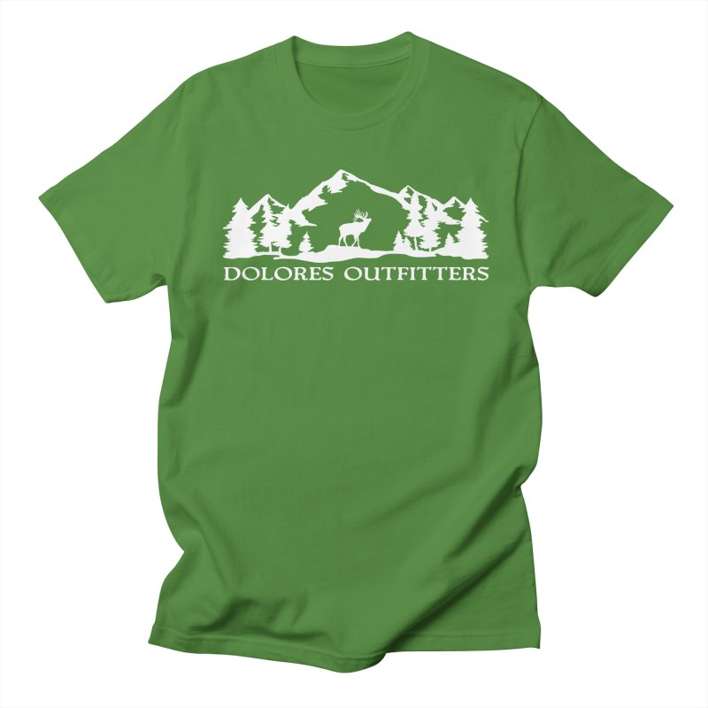 Dolores Outfitters Elk Mountain Women's Regular Unisex T-Shirt by dolores outfitters's Artist Shop