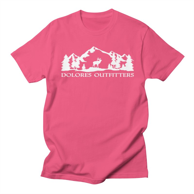Dolores Outfitters Elk Mountain Men's Regular T-Shirt by dolores outfitters's Artist Shop