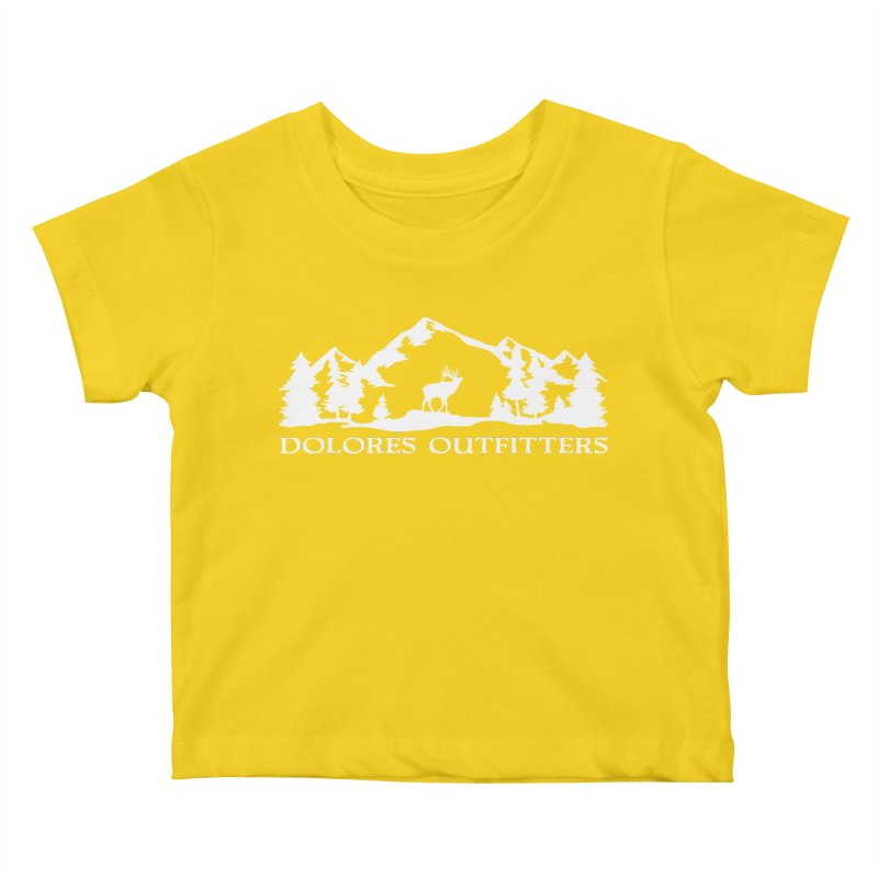 Dolores Outfitters Elk Mountain Kids Baby T-Shirt by dolores outfitters's Artist Shop