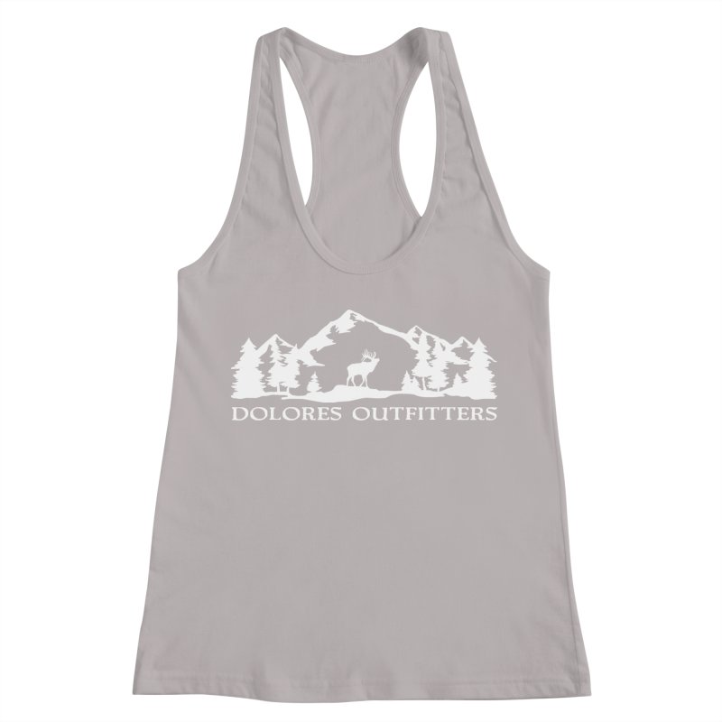 Dolores Outfitters Elk Mountain Women's Racerback Tank by dolores outfitters's Artist Shop