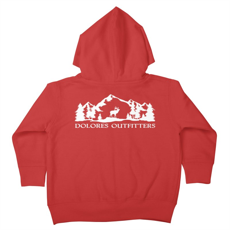 Dolores Outfitters Elk Mountain Kids Toddler Zip-Up Hoody by dolores outfitters's Artist Shop
