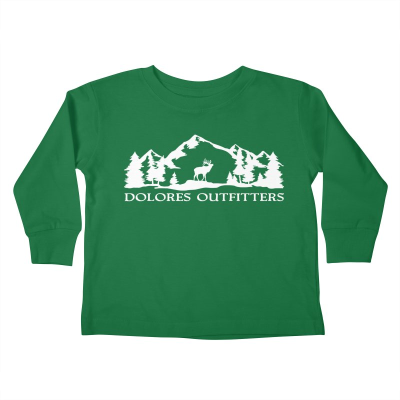 Dolores Outfitters Elk Mountain Kids Toddler Longsleeve T-Shirt by dolores outfitters's Artist Shop