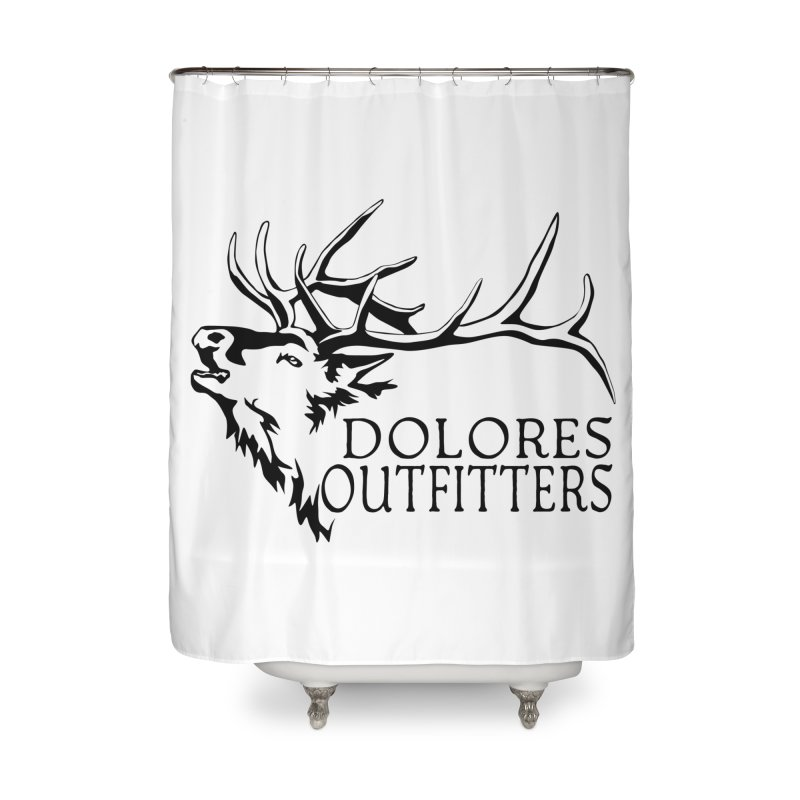 Elk Dolores Outfitters Home Shower Curtain by dolores outfitters's Artist Shop