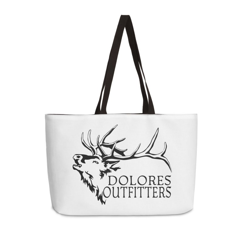 Elk Dolores Outfitters Accessories Weekender Bag Bag by dolores outfitters's Artist Shop