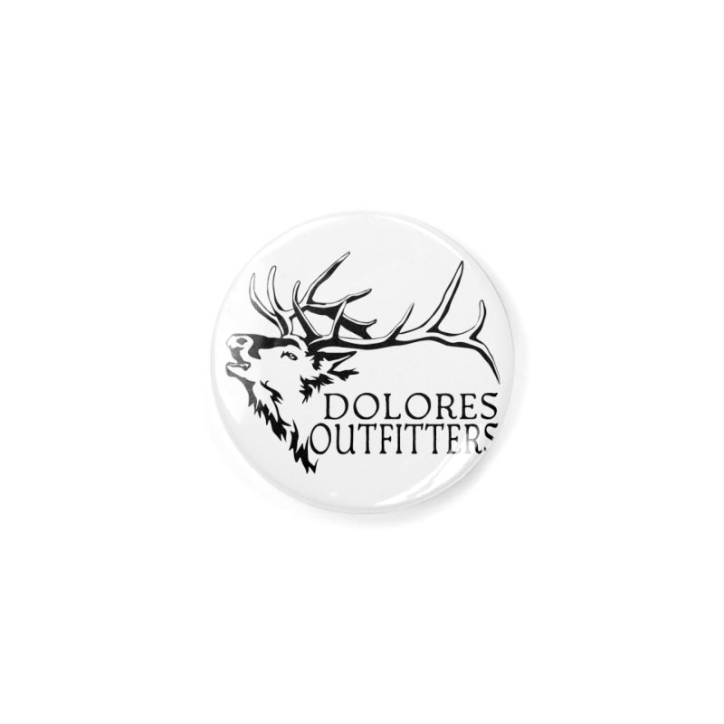 Elk Dolores Outfitters Accessories Button by dolores outfitters's Artist Shop