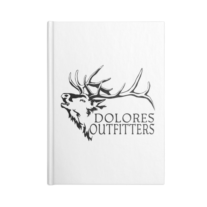 Elk Dolores Outfitters Accessories Lined Journal Notebook by dolores outfitters's Artist Shop
