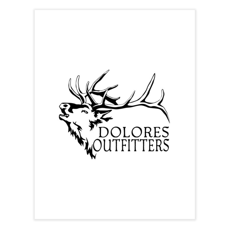 Elk Dolores Outfitters Home Fine Art Print by dolores outfitters's Artist Shop