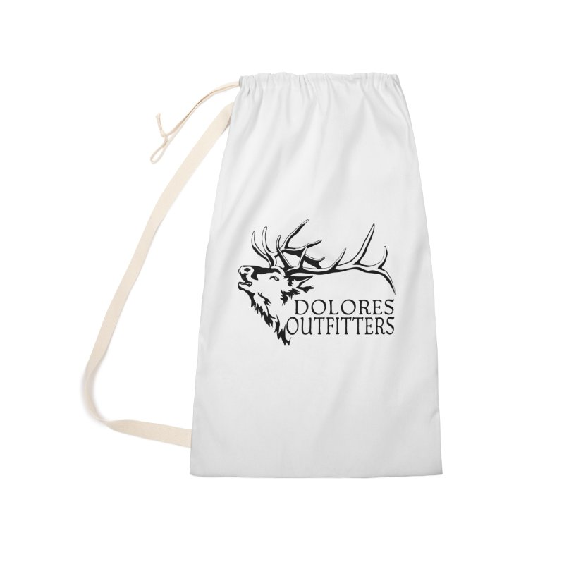 Elk Dolores Outfitters Accessories Laundry Bag Bag by dolores outfitters's Artist Shop