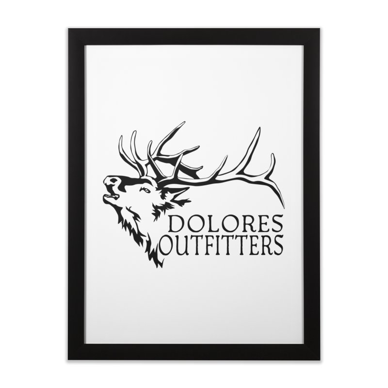 Elk Dolores Outfitters Home Framed Fine Art Print by dolores outfitters's Artist Shop