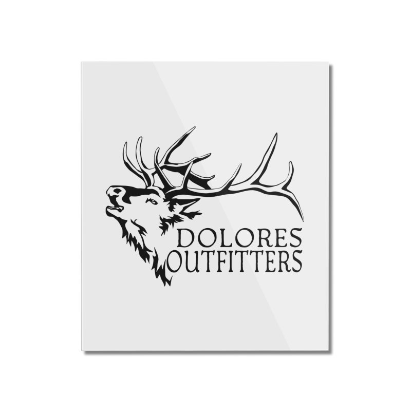 Elk Dolores Outfitters Home Mounted Acrylic Print by dolores outfitters's Artist Shop