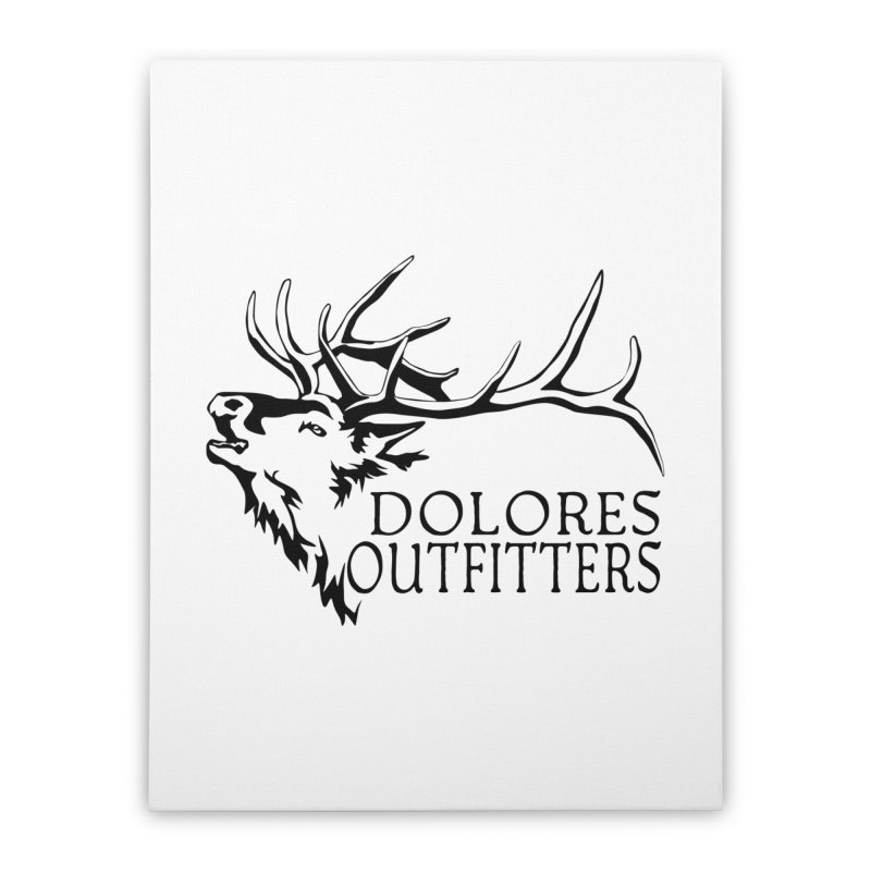 Elk Dolores Outfitters Home Stretched Canvas by dolores outfitters's Artist Shop