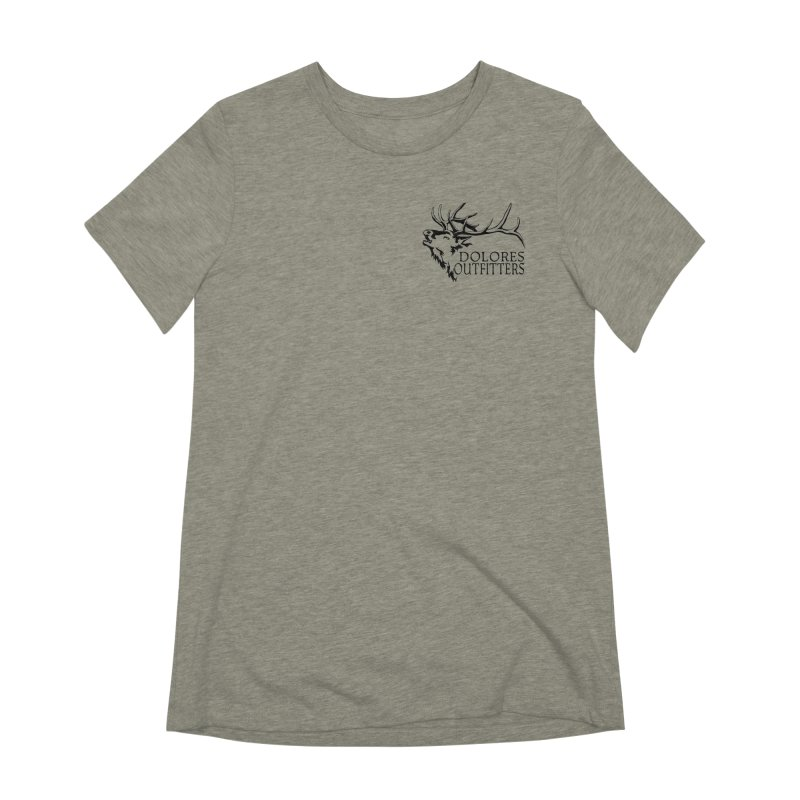 Elk Dolores Outfitters Women's Extra Soft T-Shirt by dolores outfitters's Artist Shop