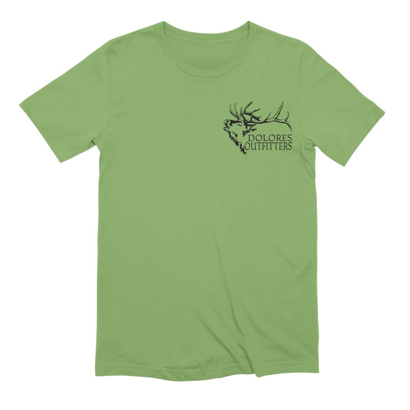 Elk Dolores Outfitters Men's Extra Soft T-Shirt by dolores outfitters's Artist Shop