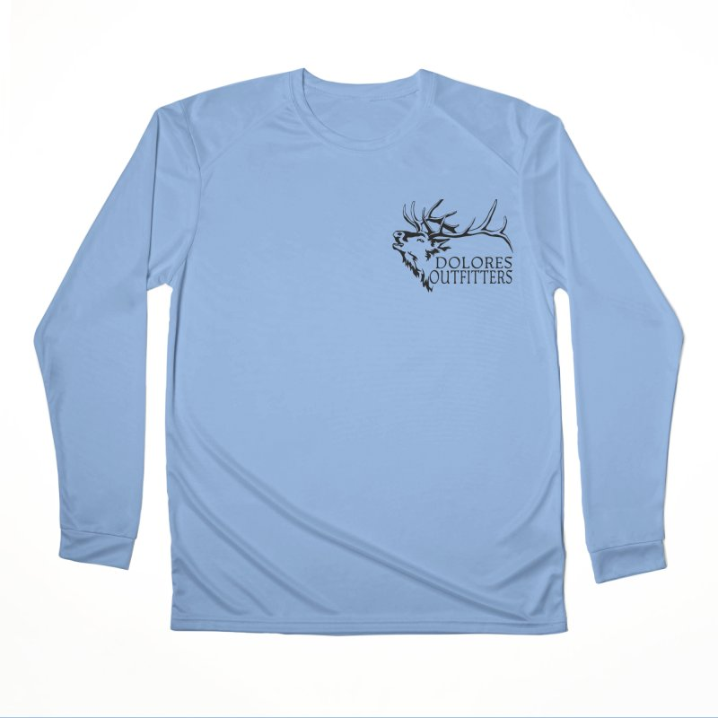 Elk Dolores Outfitters Men's Performance Longsleeve T-Shirt by dolores outfitters's Artist Shop