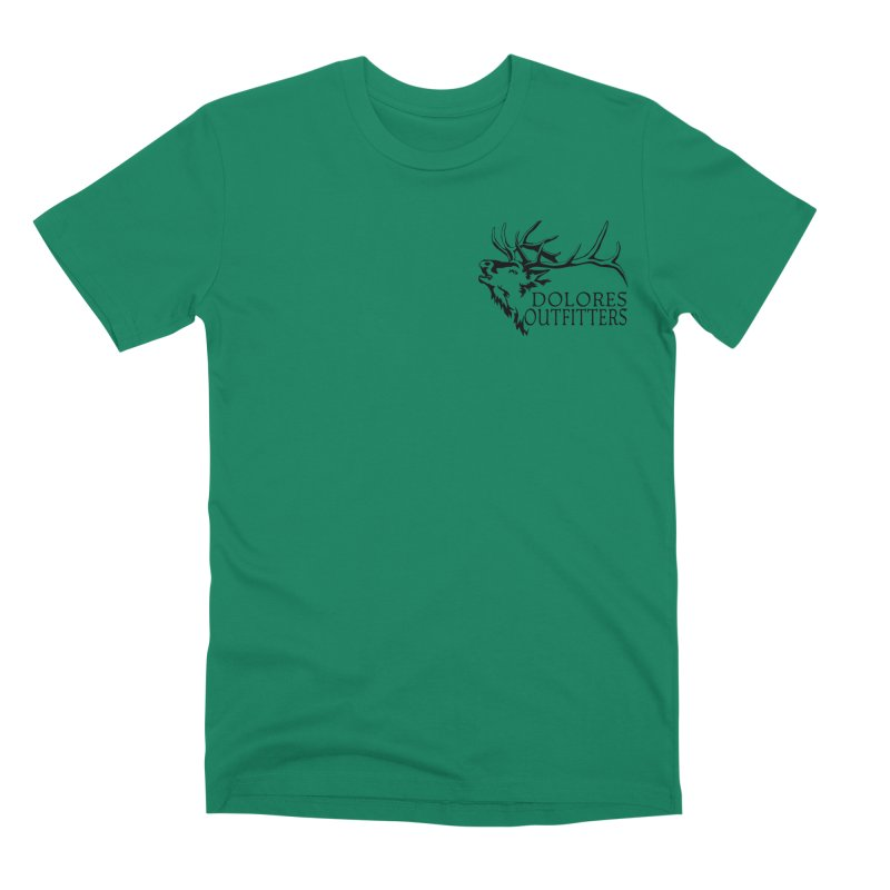 Elk Dolores Outfitters Men's Premium T-Shirt by dolores outfitters's Artist Shop